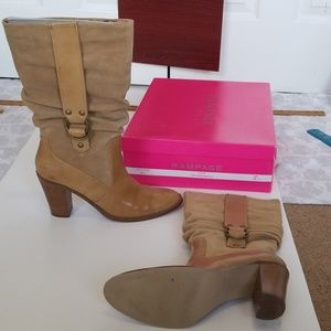 tan boots 9M womans